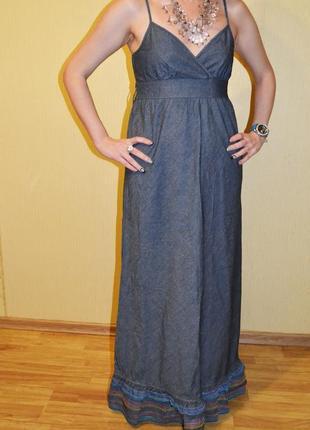 Длинное платье, сарафан в пол tommy hilfiger