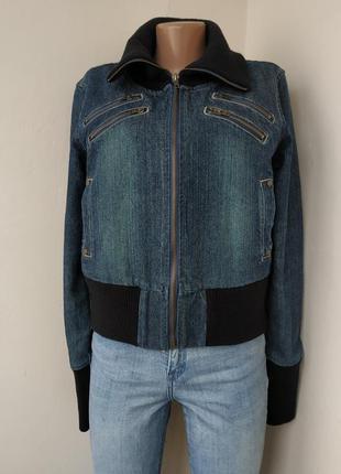 Джинсовая куртка на подкладе -90% до 1 марта