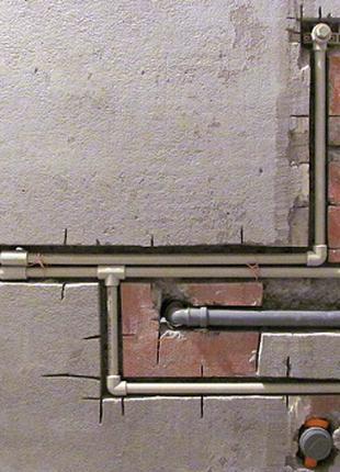 Монтаж Водоснабжения, канализации, Отопления.
