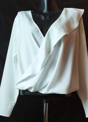 Оригинальная белая блуза asos