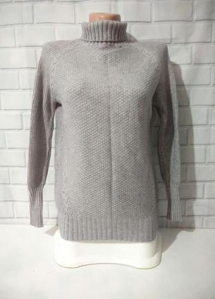 Крутой свитерок с высоким воротником (под горло)  /арт.м02