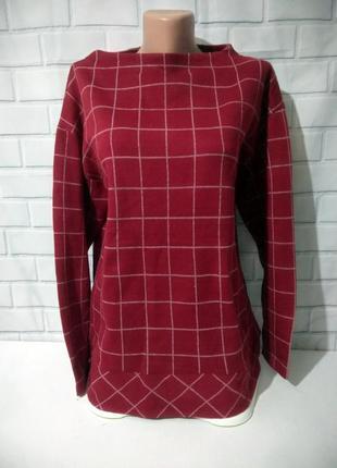 Крутая блуза (свитерок ) в клетку grove /арт.м02