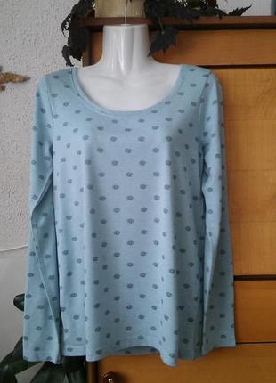 Лонгслив-футболка с длинным рукавом