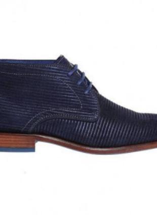 Мужские стильные полу ботинки braend porto blue
