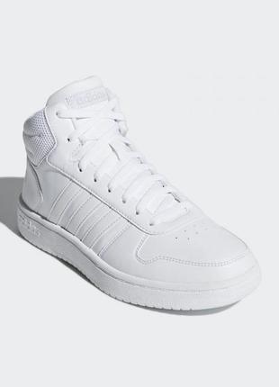 Женские кроссовки adidas hoops 2.0 mid артикул b42099