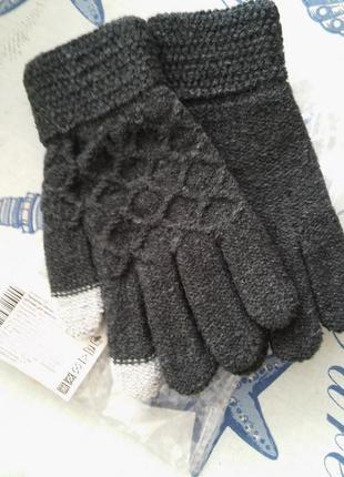 Теплые детские сенсорные перчатки