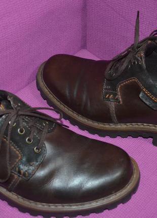 Кожаные мужские туфли , ботинки josef seibel
