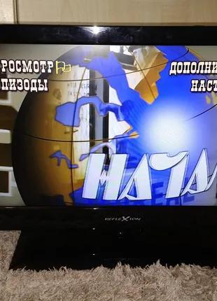 """Телевизор LED - 19"""" + DVD плеер - 12 вольт Reflexion"""