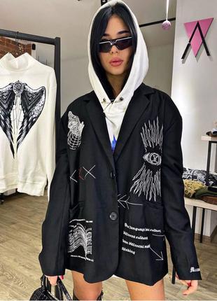 Курточка пиджак Trap Hard