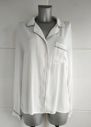 Стильная блуза next белого цвета