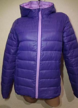 Демисезонная куртка типа пуховик papperts размер s m