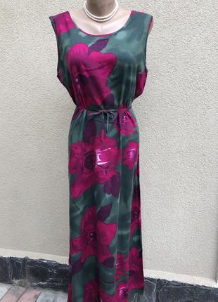 Платье,сарафан штапельное,вискоза,этно,бохо стиль,большой размер