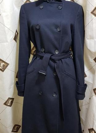 Новое шерстяное пальто pedro del hierro