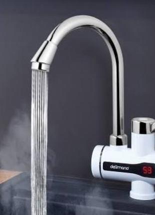 Поточный водонагреватель Delimano