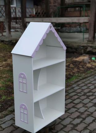 В наличии! Кукольны домик полка мод Анжелика ляльковий будинок