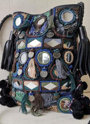 Antik batik вместительная сумка, кожа