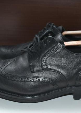 Mephisto 40р туфли оксфорды кожаные, броги монки