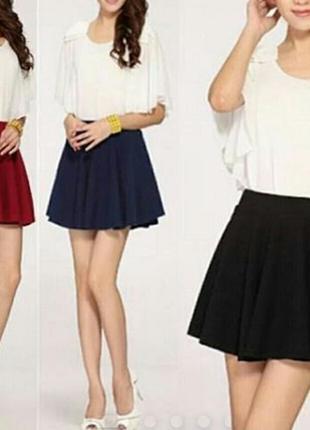 Стильная молодежная юбка