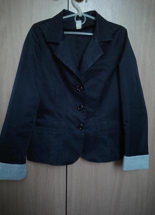 Пиджак школьный на р.152