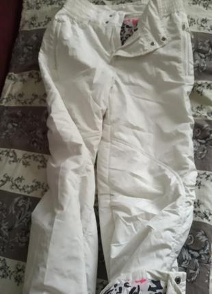 Штаны брюки лыжные утеплённые теплые.
