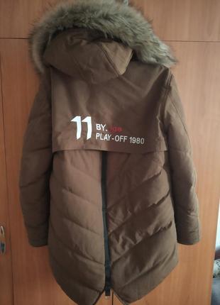 Куртка удлиненная.