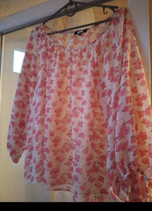 Блуза шифоновая.
