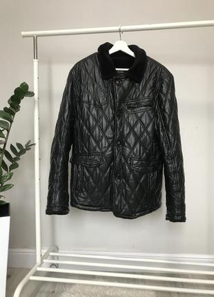 Мужская куртка дублёнка