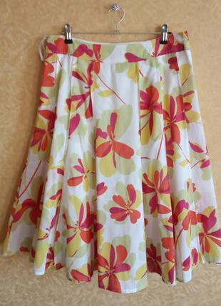 🌸яркая юбка летняя/цветочный принт/тотальная распродажа🙀/самые...