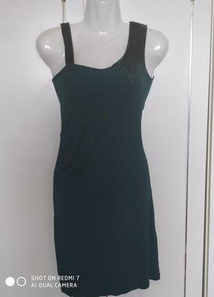 Шикарное натуральное платье. вискоза
