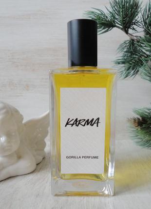 Натуральный парфюм lush karma gorilla /британский vegan бренд/...