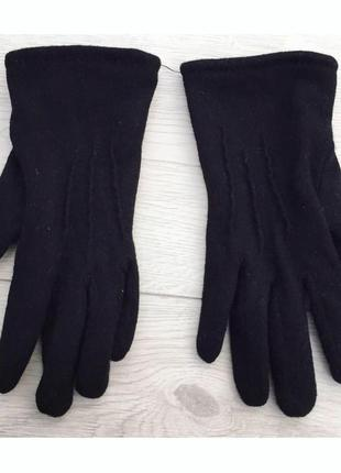 Рукавиці, перчатки, черные перчатки.