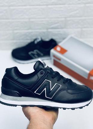 New balance 574 кроссовки нью беланс кожа нью беланс 574 кросі...