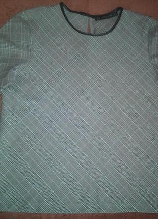 Блуза / кофточка / блузон в клетку