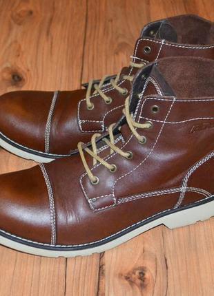 Продам ботинки демисезон am shoes - 46 размер кожа