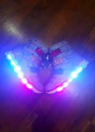 Кроссовки ботинки с мигалками