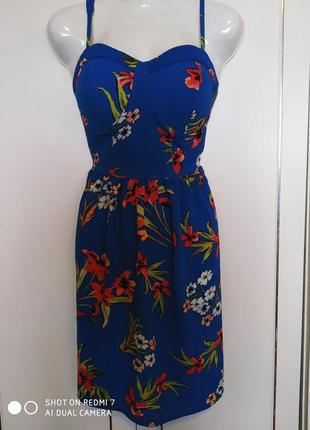 Шикарное, яркое летнее платье сарафан