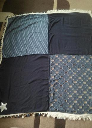 Очень стильный большой платок