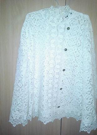 Блуза ажурная zara