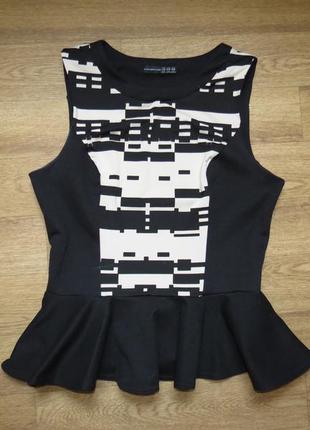 Блуза с принтом от atm
