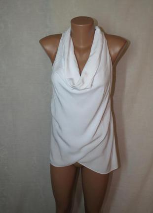 Белоснежная легкая блуза италия