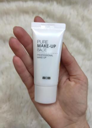 Корейская сияющая база под макияж vov pure make-up base