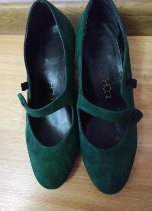Туфли замшевые р.37