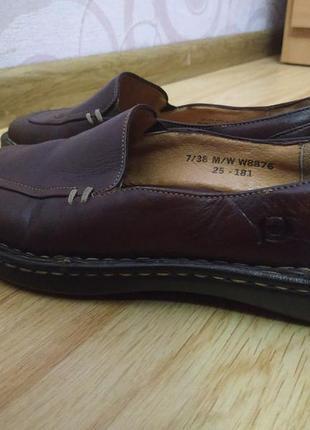 Туфли кожаные р.37-37,5