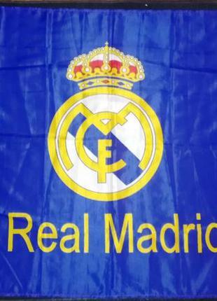 Баннер-флаг fc real madrid