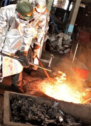 Промышленное литье чугуна и стали