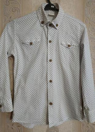 Рубашка нарядная на 4-5 лет