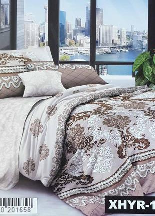 Комплект постельного белья, сатин, полуторное, двухспальное