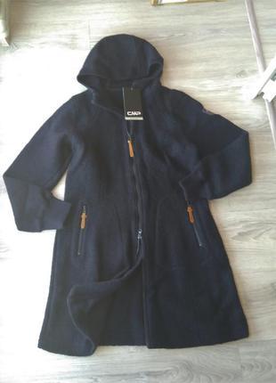 Новое шерстяное пальто 75% шерсть. парка cmp wooltech куртка и...