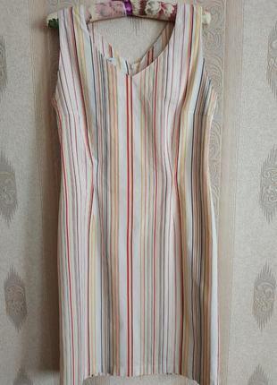 Платье летнее натуральная ткань