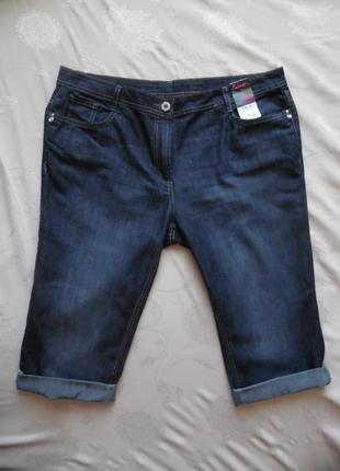 Капри шорты джинс falmer размер 18 – идет на 52-54